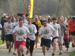 Participants are off to the races during a past Jimmy Williams Memorial Run. (File photo by Scott Bolthouse.)