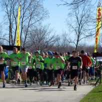 Hundreds of runners take their mark to participate in the 2nd annual Jimmy Williams Memorial Run. File photo by Scott Bolthouse.