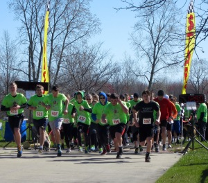Over 150 runners participated in the second annual Jimmy Williams Race at Willow Metro Park in 2015. Photo by Scott Bolthouse.