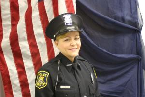 Officer Kari Schneider.