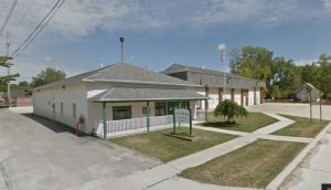 A google maps photo of the current senior center, which sits adjacent to Fire Station 2 in Waltz on Mineral Springs. The new building will be constructed near this property.