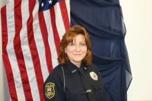 30 year veteran and Police Dispatch Supervisor Terri Lindenmuth.