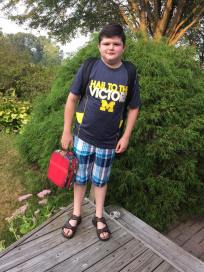 """""""Joshua Luciow 4th grade at Brown! He had a great day with Mrs. Budimir!"""""""