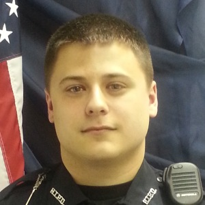 Officer Kenneth Hickman. (Photo courtesy of the Huron Township Police Department)