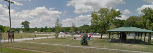 Lajko Park is located north of Township Hall on Huron River Drive. Photo/Google Maps