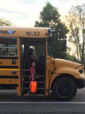 Last year, parents shared their back to school photos for a special gallery on the Huron Hub